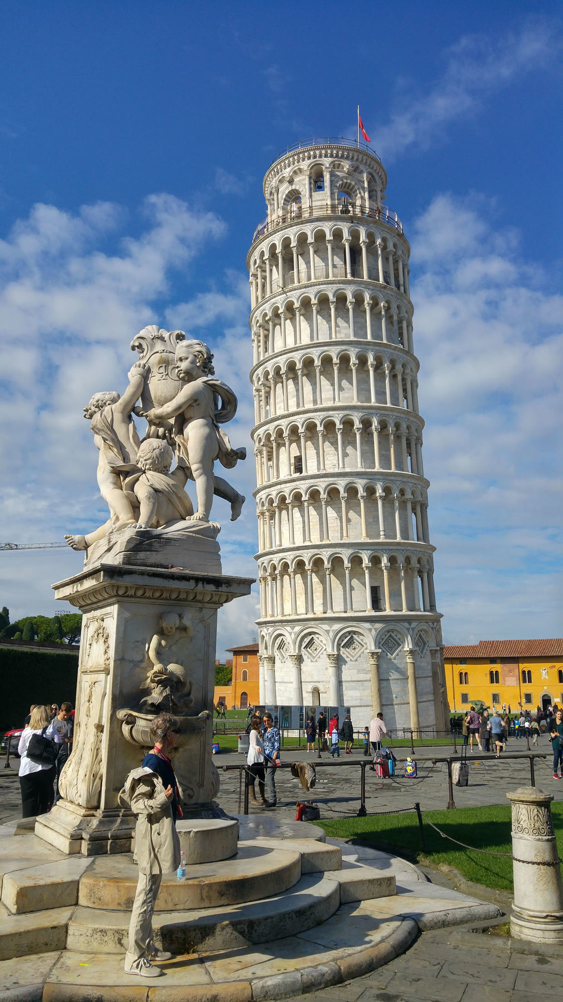 """Day Trip to Pisa and Lucca"" Maria"