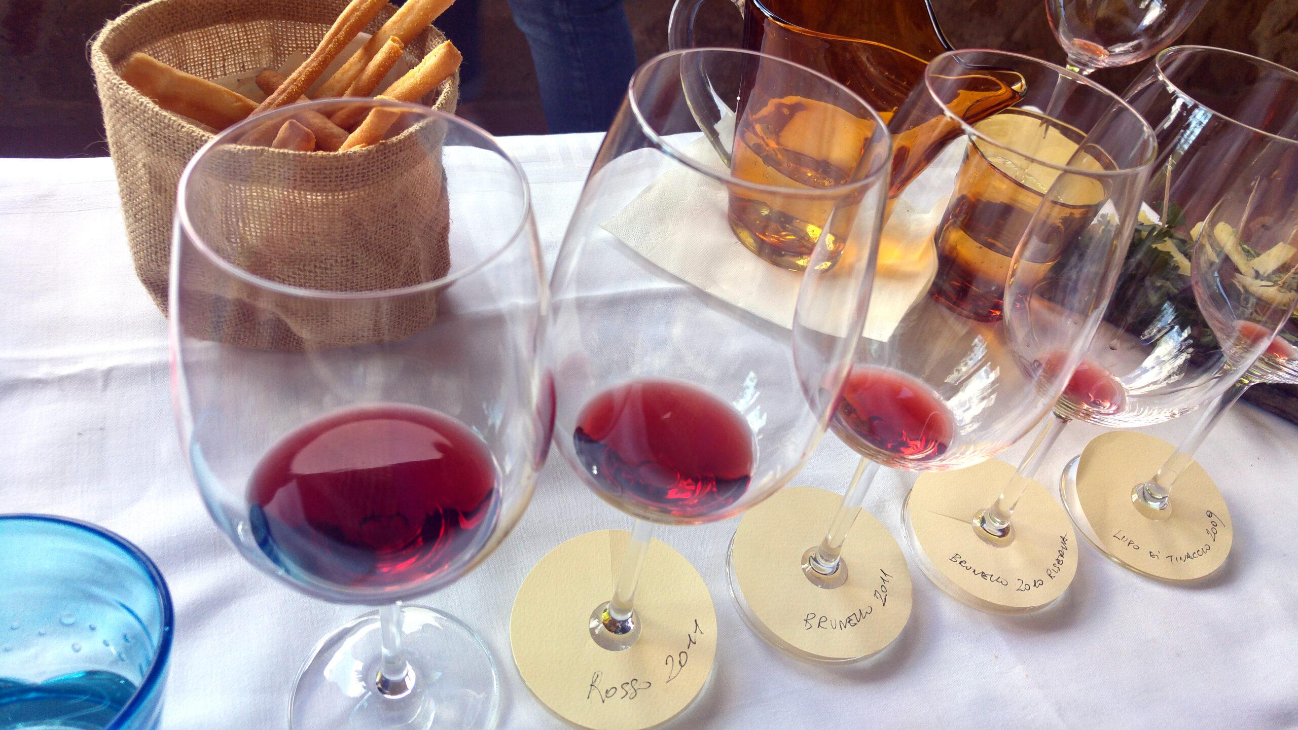 Brunello Private Tour tasting
